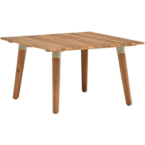 Garden Coffee Table 60x60x36 cm Solid Acacia Wood