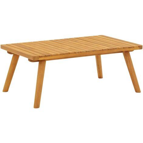 Garden Coffee Table 90x55x35 cm Solid Acacia Wood