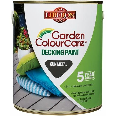"main image of ""Liberon Garden Colour Care Decking Paint - All Colours"""