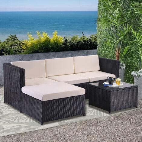 Garden Corner Sofa rattan Garden Furniture Patio Set