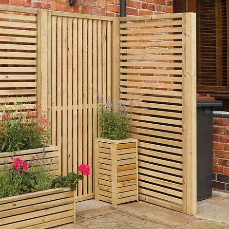 Garden Creations Vertical Slat Screens 2 Pack