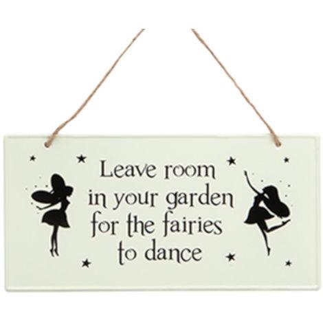 Garden Fairy Sign