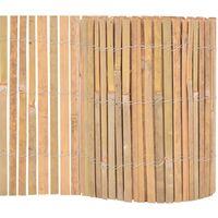 Garden Fence Bamboo 1000x30 cm
