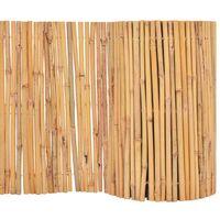 Garden Fence Bamboo 500x30 cm