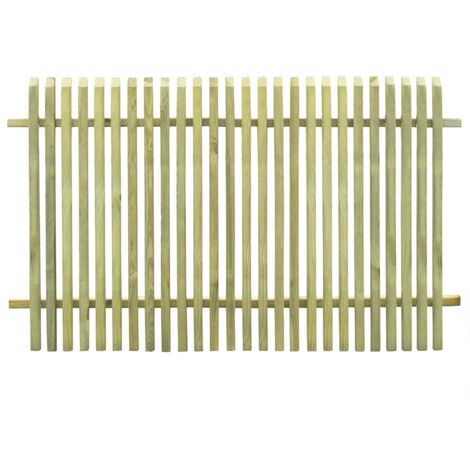 Garden Fence Impregnated Pinewood 170x100 cm