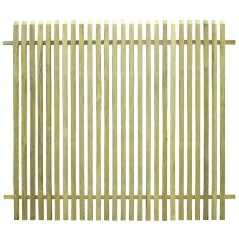 Garden Fence Impregnated Pinewood 170x150 cm