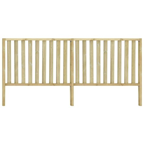 Garden Fence Impregnated Pinewood 3.58x1.7 m - Brown