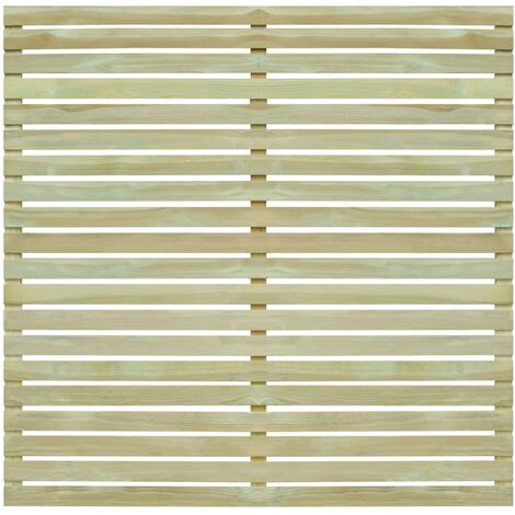 Garden Fence Panel FSC Impregnated Pinewood 180x180 cm