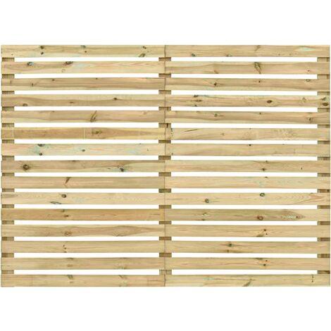 Garden Fence Panel Impregnated Pinewood 180x180 cm