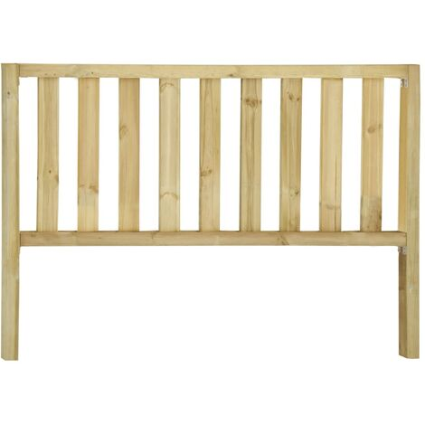 Garden Fence with 2 Posts Impregnated Pinewood 182x130 cm