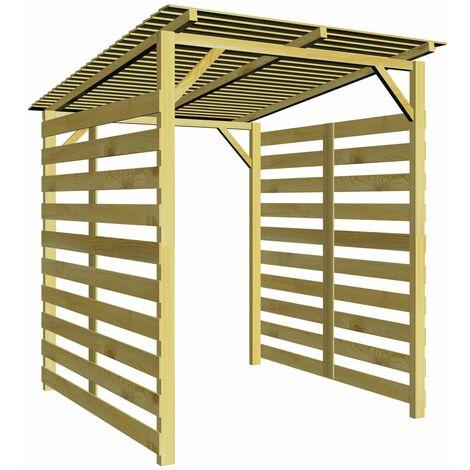 Garden Firewood Storage Shed Impregnated Pinewood