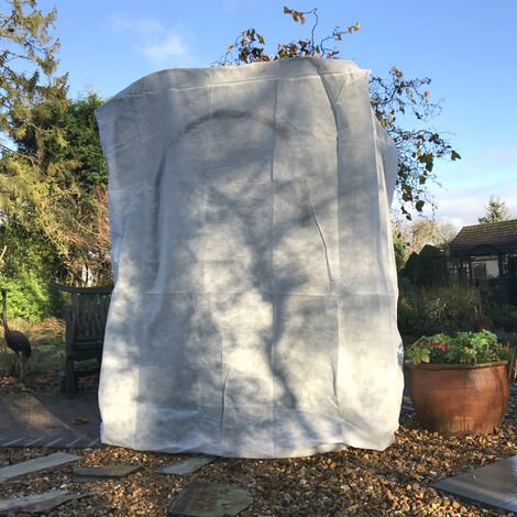 Garden Fleece Frost Cover for Winter Plant Protection (Various Sizes)