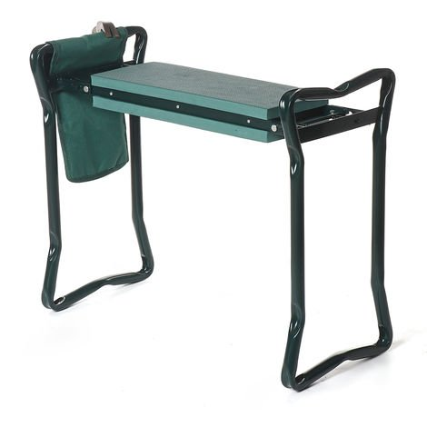 Garden Foldable Kneeling Bench Kneeling Bench EVA Soft Pad Stool with Outdoor Pouch