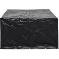Garden Furniture Cover 6 Person Poly Rattan Set 8 Eyelets 172 x 113cm