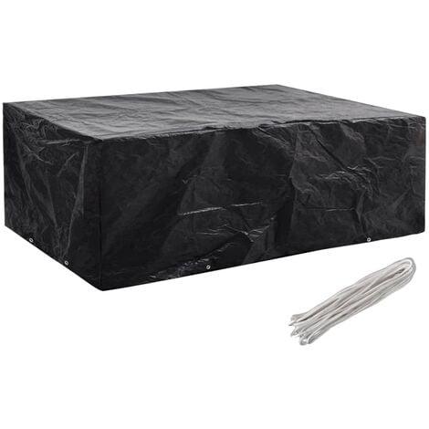 Garden Furniture Cover 8 Eyelets 242x162x100 cm