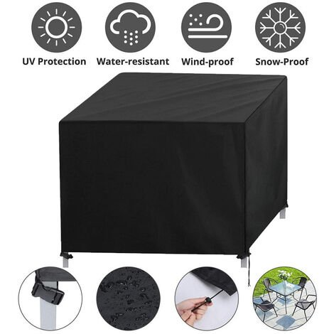 """main image of """"Garden Furniture Covers Waterproof Cube Furniture Cover Garden Table Cover Resistant Oxford 87*87*77cm"""""""
