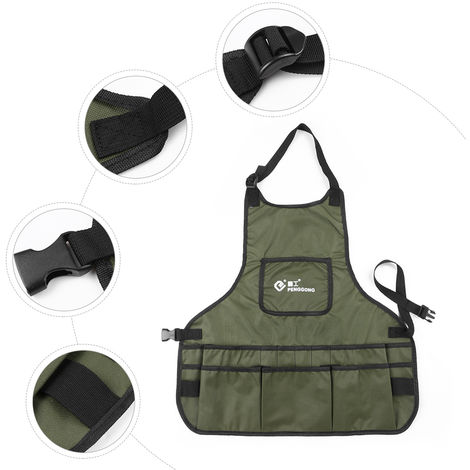 Garden Garden Workwear Bag Apron Kit Army Green