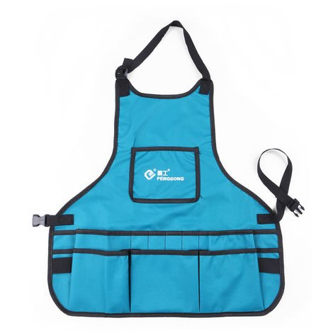 Garden Garden Workwear Bag Apron Kit Blue