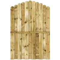 Garden Gate FSC Impregnated Pinewood 100x150 cm Arched Design