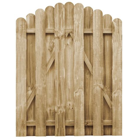 Garden Gate Impregnated Pinewood 100x125 cm