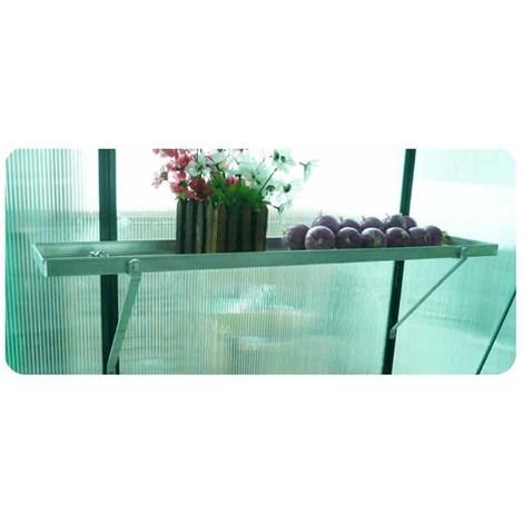 Garden greenhouse shelf - 3'1 x 6in