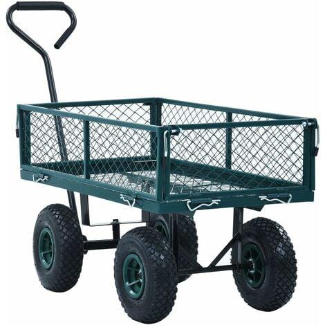 Garden Hand Trolley Green 250 kg