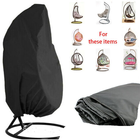 Garden hanging wheelchair cover - Waterproof suspended egg armchair cover