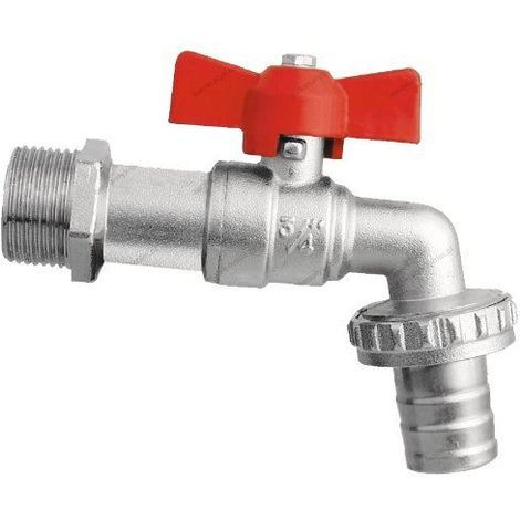 Garden hose tap 3/4 bsp butterfly handle ball valve bib water hose pipe