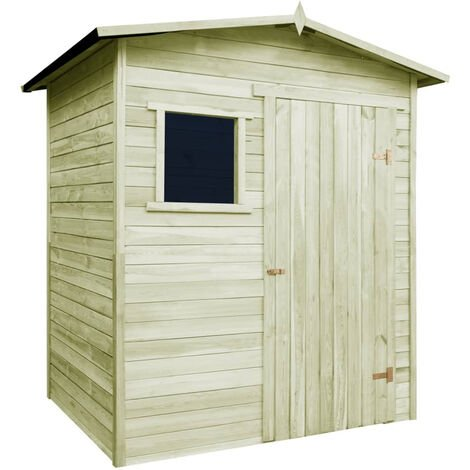 Garden House Shed 1.5x2 m FSC Impregnated Pinewood