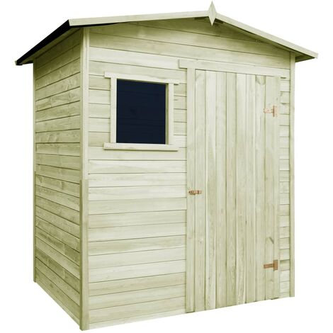 Garden House Shed 1.5x2 m Impregnated Pinewood