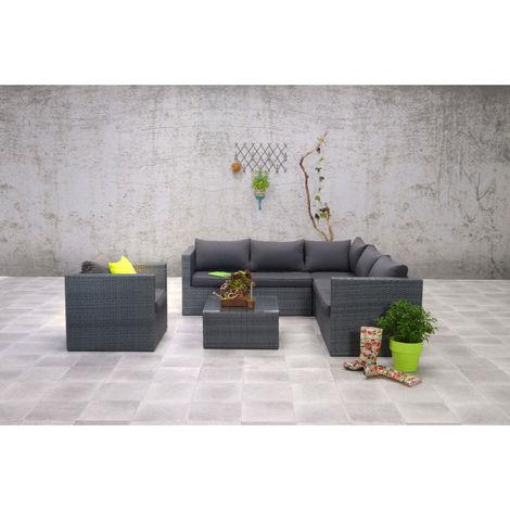 Garden Impressions Wetterfeste Gartenmobel Polyrattan Lounge