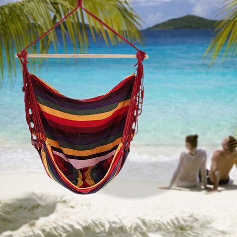 Garden Indoor Hanging Hammock Swing Chair Patio Camping Seat