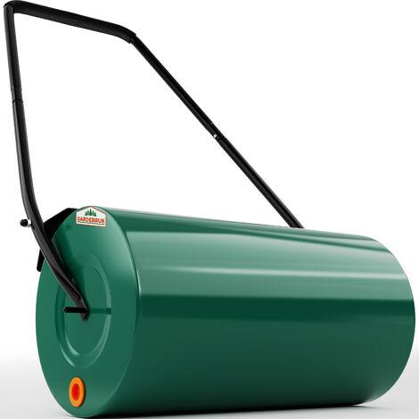 Garden Lawn Roller 33cm Diameter 48L Gardenng DIY Tool Water Sand Filled