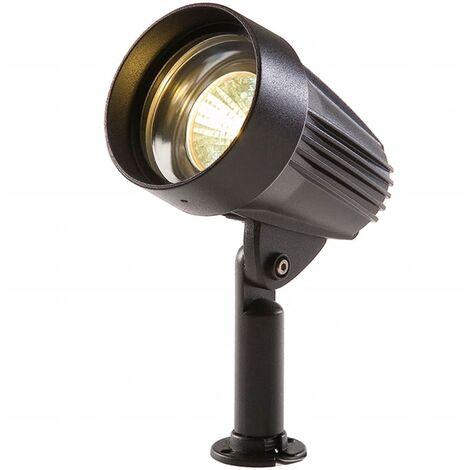 Garden Lights LED-Strahler Corvus Schwarz Aluminium 3154011