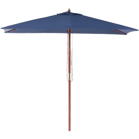 Garden Market Parasol 1.44 x 1.95 m Blue FLAMENCO