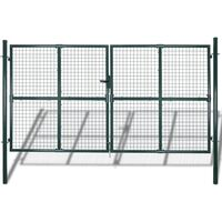 Garden Mesh Gate Fence Door Wall Grille 289 x 200 cm