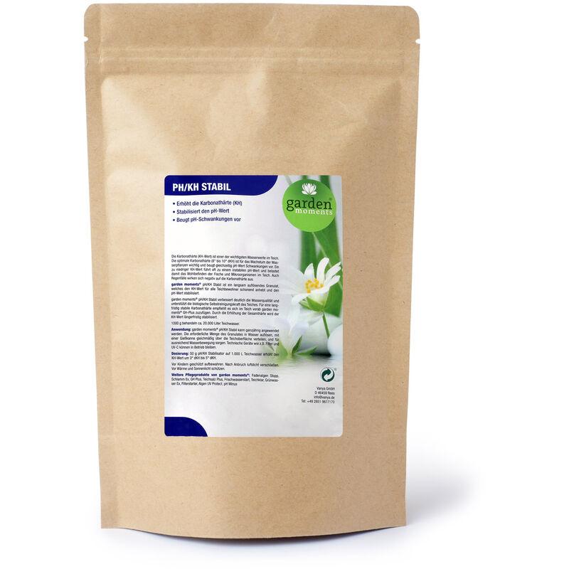 garden moments pH/KH Stable 500g, traitement de 10 000l, règle la dureté carbonate (DC)