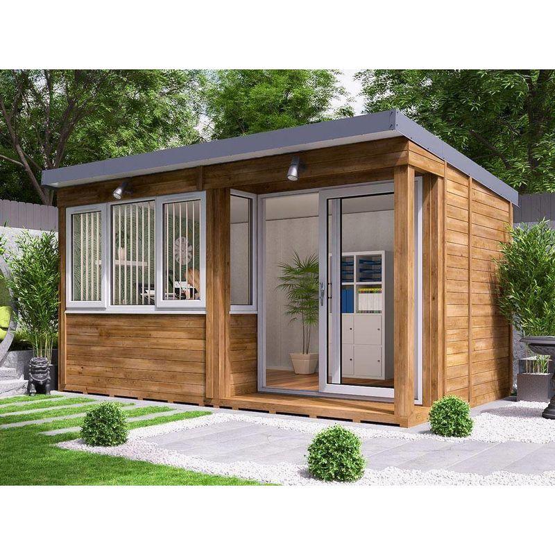 Garden Office Helena Right 4.3m X 2.7m