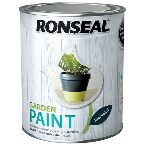 """main image of """"Ronseal Outdoor Garden Paint - For Exterior Wood Metal Stone Brick - All Colours"""""""