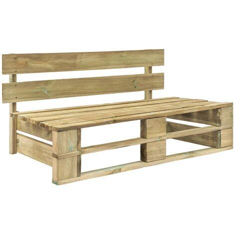 Garden Pallet Bench Wood