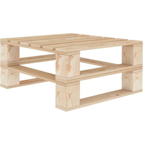 Garden Pallet Table Wood