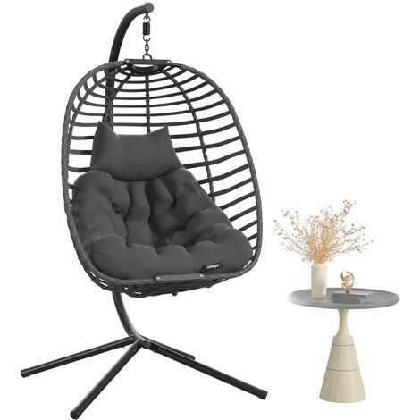 "main image of ""Garden Patio Hanging Egg Chair Swing Seats Detachable"""