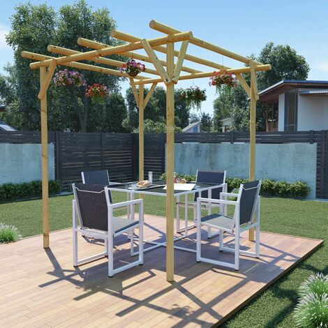 Garden Pergola 2x2x2 m Impregnated Pinewood