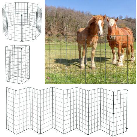 Garden Pet Folding Fence Dog Enclosures Playpen Cage