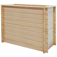 Garden Planter 100x50x80 cm FSC Pinewood 19 mm