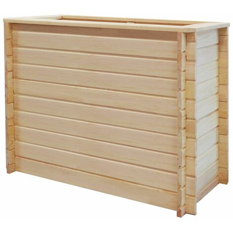 Garden Planter 100x50x80 cm Pinewood 19 mm