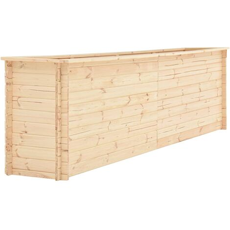 Garden Planter 300x50x80.5 cm Pinewood 19 mm