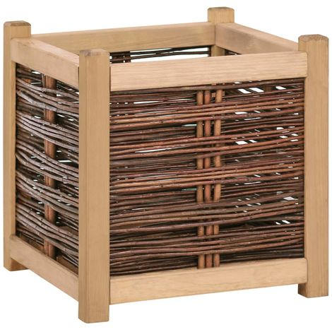 Garden Planter 40x40x40 cm Solid Pine Wood