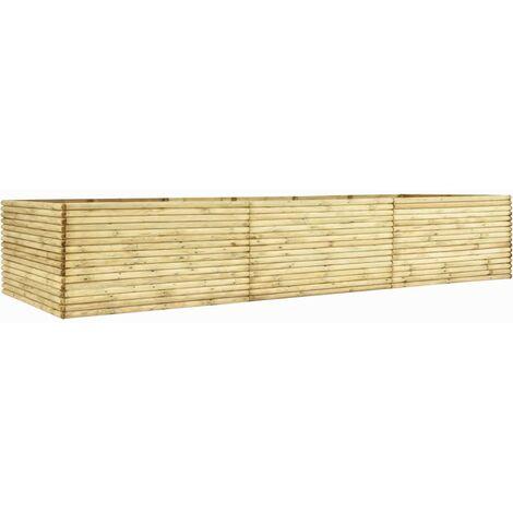 Garden Planter 450x50x96 cm Impregnated Pinewood