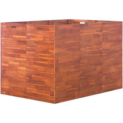 Garden Planter Acacia Wood 150x100x100 cm